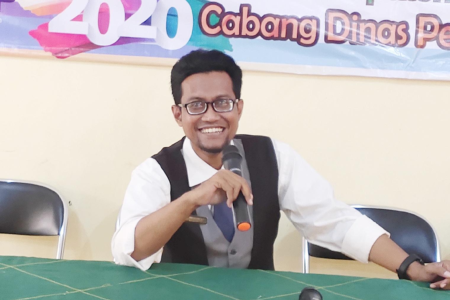 SISWA BELAJAR DI RUMAH, SMK ANWARUL MA'ARIF MANFAATKAN GOOGLE CLASSROOM